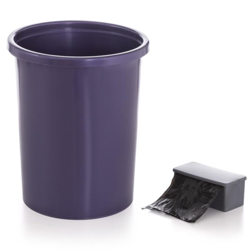 Self-Sachet Mor Kendinden Poşetli Çöp Kovası